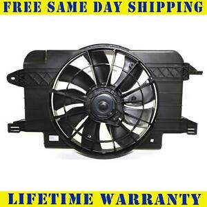 Radiator And Condenser Fan For Saturn SL SL1 GM3115121
