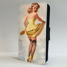 Pinup Girl Vintage Retro FLIP PHONE CASE COVER for IPHONE SAMSUNG