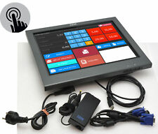 "15 "" 15in ibm Surepoint 4820-1.8oz Touchscreen Monitor 1024x768 Windows 7 8 10"
