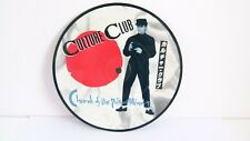 """Culture Club 7"""" Picture Disc Vinyl - Church of the Poison Mind/Man Shake"""