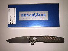 NEW Benchmade 781 Anthem Titanium Handle CPM-20CV Blade Axis Lock Folding Knife