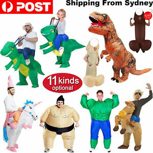 Inflatable Adult Costume Suit Fan Halloween Costume Party Funny Fancy Dress Part