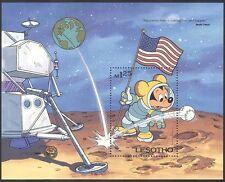 Lesotho 1985 Disney Space/Astronaut m/s ref:b586