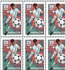 2834   29c   SOCCER NH SHEET OF 20   SPECIAL SALE AT FACE