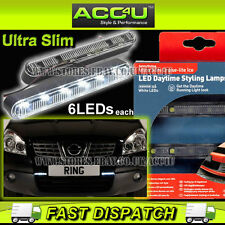 Ring 12v Car Ultra Slim Cruise Lite Ice LED Daytime Running Styling DRL Lamps