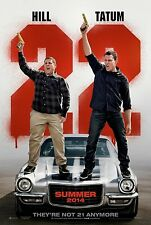 22 Jump Street 2 Advance A Original Movie Poster Double Sided 27x40