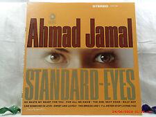 "AHMAD JAMAL -(LP)-  STANDARD-EYES   ""SO BEATS MY HEART FOR YOU"" CADET-786 - 1967"