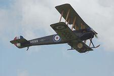 Giant 1/6 Scale British WW-I Avro 504 Biplane Plans,Templates, Instructions 72ws