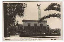 Les Services Municipoux Casablanca Morocco Rppc Real Photo postcard