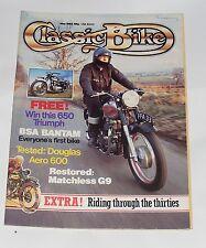 CLASSIC BIKE MAY 1983 - 600CC DOUGLAS AERO/TRIUMPH TIGER 100/MATCHLESS G9