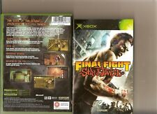 FINAL FIGHT STREETWISE XBOX / X BOX 360 RATED 18 RARE