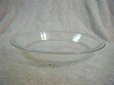 """Vintage Pyrex Deep Dish 9 Inch x 1.5"""" Clear Pie Plates # 209 H 5 Corning NY US"""