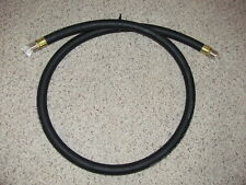 NEW 6 FT. BLACK GAS PUMP HOSE FOR TOKHEIM GAS PUMPS-MADE IN U.S.A-RESTORATION