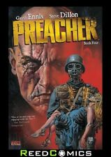 PREACHER BOOK 4 GRAPHIC NOVEL (368 Pages) New Paperback Collects #34-40 + extras