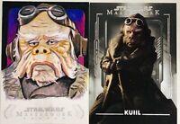 """2020 Star Wars Masterwork KUILL """" Nick Nolte"""" Sketch Card 1/1 Adam Everett Beck."""