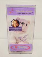 ORIGINAL Vintage 1999 Britney Spears Autograph Series Beanie Bear (UNSIGNED)