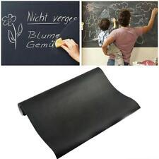 Blackboard Vinyl Chalkboard Decal Memo Mural Wall Sticker Removable Adhesive New