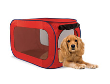 Dog Crate Kennel Portable Soft Collapsible Folding Pet Travel Big Pop Up Cage