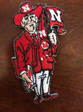 "University of Nebraska Cornhuskers Vintage Embroidered Iron On Patch 3"" X 1.5"""