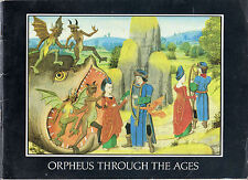"JAN CULIK - ""ORPHEUS THROUGH THE AGES"" - CHANNEL FOUR TELEVISION PAMPHLET (1985)"