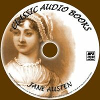 JANE AUSTEN ENGLISH CLASSIC NOVELS 10 AUDIO BOOKS NEW MP3 PC/DVD MANSFIELD PARK+