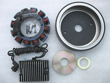 HARLEY EVO S&S 32AMP COMPLETE CHARGING SYSTEM W/SEALED MAGNET ROTOR