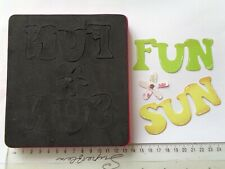 Sizzix Bigz Hello Kitty Phrase Fun & Sun ~ Craft Die Cutter