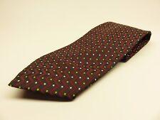 Giorgio Armani Tie Allover Pattern 100% Silk Necktie Made in Italy