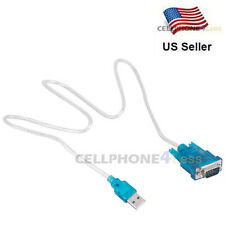 USB to RS232 COM Port Serial PDA 9 pin DB9 Adapter Cable
