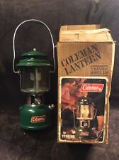 Vintage 1981 Coleman Model 220K Double Mantle Gas Lantern w/ Original Box