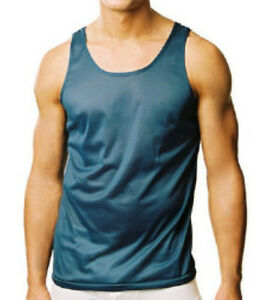 Nylon tricot tank shirt made by players Small-6X Many colors