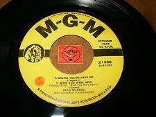 FRAN WARREN - EP MGM 1300 ( NO COVER )   - LISTEN - VOCAL JAZZ EXOTICA  POPCORN