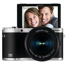 SAMSUNG NX300M Digital Smart Camera k/w 16-50mm Lens Wi-Fi [Black] -Fedex USA