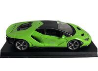 Maisto Lamborghini Centenario Green 1/18 scale die-Cast metal Special Edition