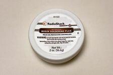 Radioshack Rosin Soldering Flux Paste Non Spill Usa 2 Oz Jar 64 022 64022