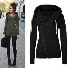 Damen Jacke Mantel Warm Winterjacke Übergangsjacke Sweatjacke Pulli Sweatshirts