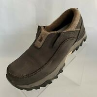The North Face Womens Slip-Ons Waterproof Hydroseal Brown Leather Shoes Size 7.5