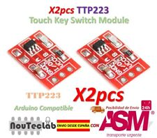 2pcs TTP223 Touch Key Switch Sensor Module Touch Button Capacitive Switches