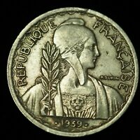FRENCH INDOCHINA 1939 20 CENTS, VG NON-MAGNETIC - #2605