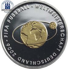 Fußball polierte Platte 10-Euro-Gedenkmünzen der BRD