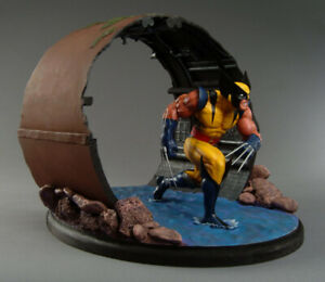 MARVEL X-Men: Wolverine Diorama STATUE by Clayburn Moore Dynamic Forces Uncanny