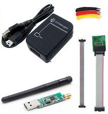 Cc debugger ZigBee Programmer + cable del adaptador para cc2531 cc2530 + cc2531 Stick