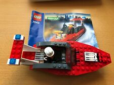 LEGO World City Firefighter Boat (7043) Complete Set! Great Condition!