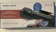 VuPoint Magic Wand Portable Scanner PDSDK-ST470r-VP with Auto-Feed Dock (RED)
