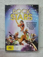Rock Stars / Disco Worms - DVD - Kids Animated Movie - RARE !  Region 4