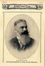 Oberlandesgerichtspräsident Dr.Beseler der neue Justizminister c.1905