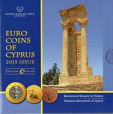 SÉRIE EURO BRILLANT UNIVERSEL (BU) - CHYPRE 2015