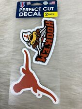 Wincraft NCAA Official University of Texas Longhorns ALUMNI 4x5 Perfect Cut Decal