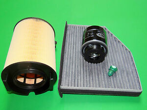 Ölfilter Luftfilter Aktivkohle-Pollenfilter Skoda Yeti 1.2 TSI (77kW/105PS)