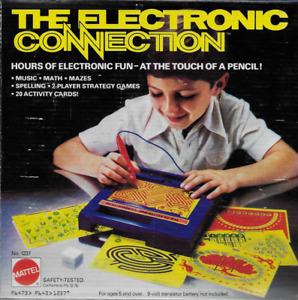 Vintage The Electronic Connection Mattel 1979